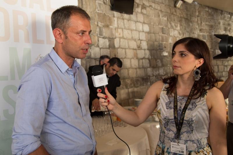 06 Intervista del SWFF a Ivan Cotroneo con Carla Panico