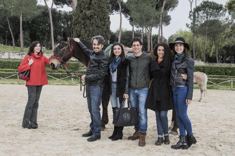 Chiara Leonetti, Massimo Coglitore, Giulia Petrungaro, Katia Greco e Michelle Carpente