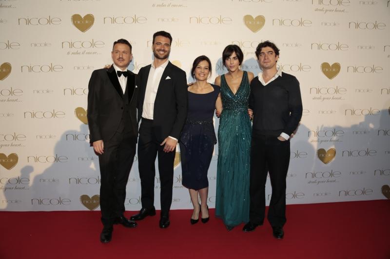 Carlo Cavallo, Giulio Berruti, Alessandra Rinaudo, Rocio Munoz Morales e Riccardo Scamarcio