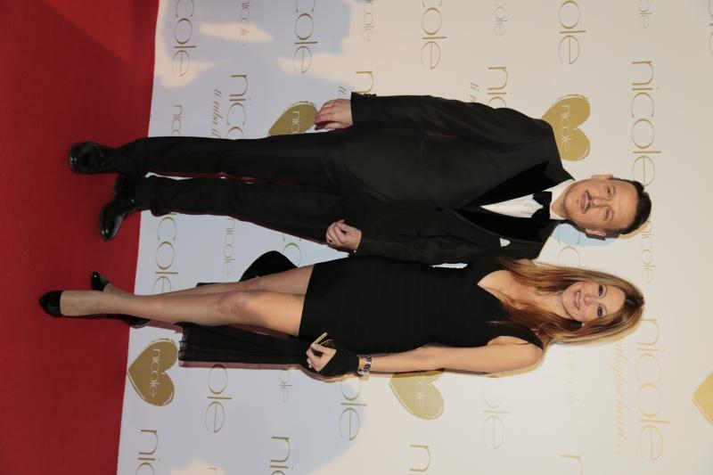 Carlo Cavallo con Adriana Volpe