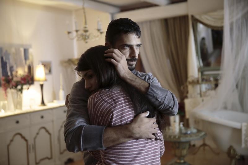 Marco Bocci (Marco) e Carlotta Antonelli (Agata Corona)_DP_3646