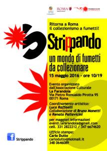 locandina STRIPPANDO 2 - 15 maggio 2016
