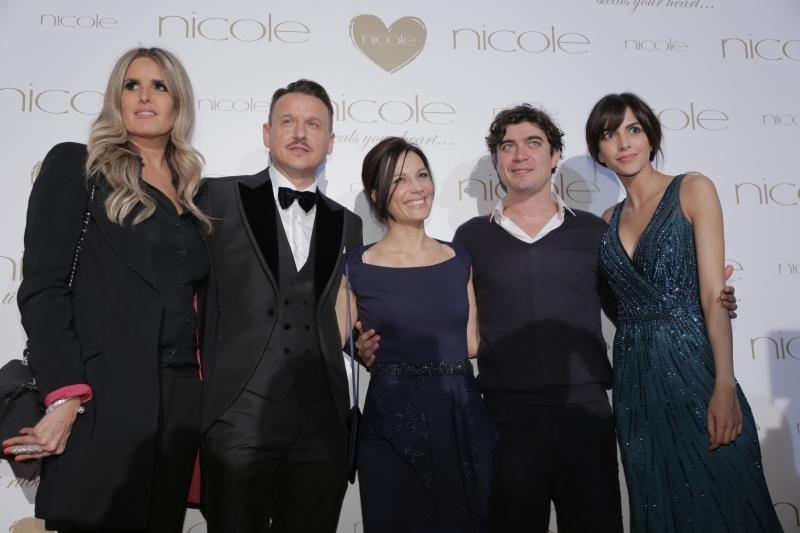 Tiziana Rocca, Carlo Cavallo, Alessandra Rinaudo, Riccardo Scamarcio e Rocio Munoz Morales